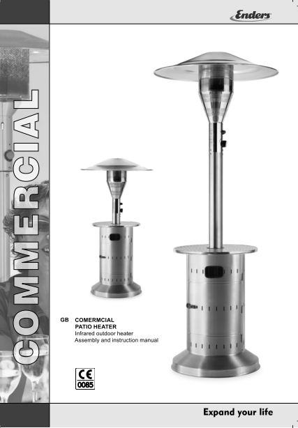 Enders Patio Heater Instruction Manuals